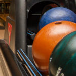 Weichnachtsfeier 2015, Bowlingkugeln