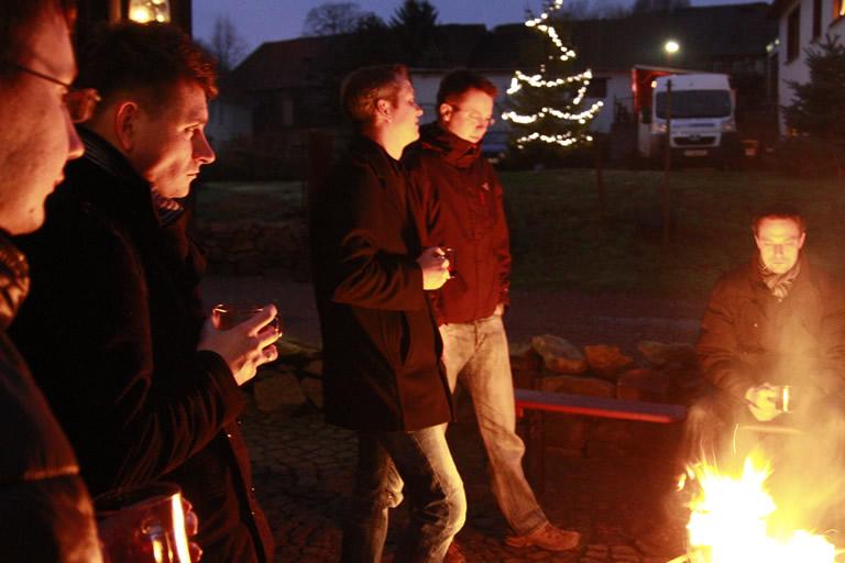 Weihnachtsfeier 2013, Schmiedelandhaus - Greifendorf /1/