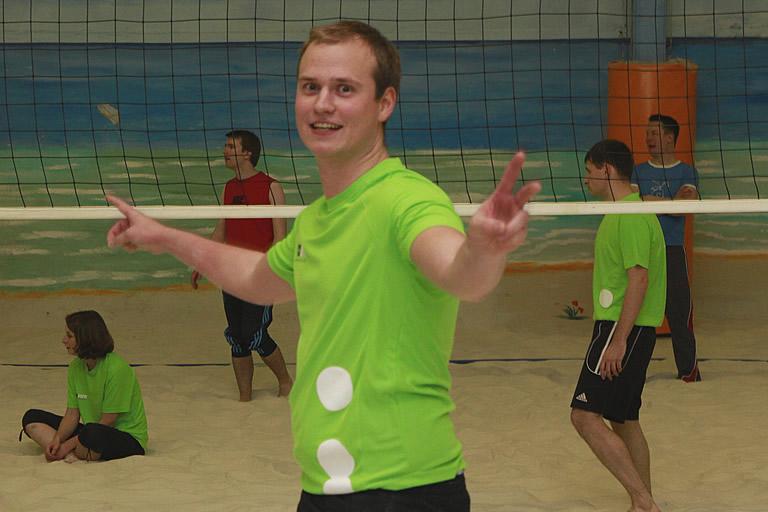 Weihnachtsfeier 2014, Volleyball /1/