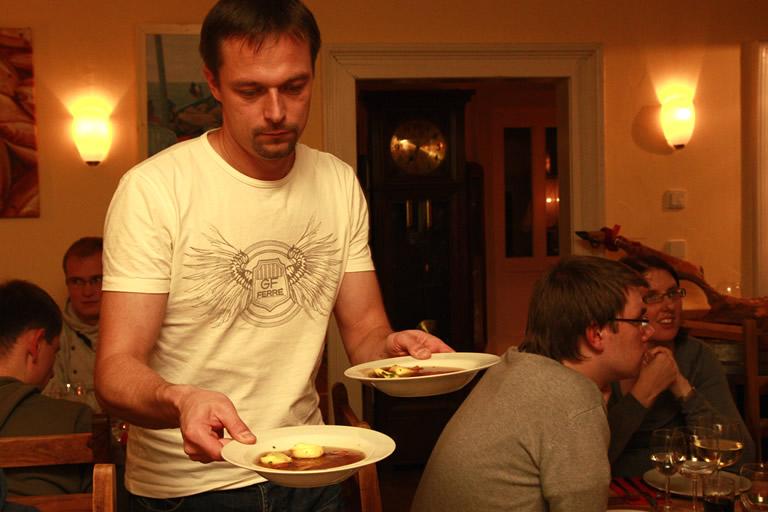 Weihnachtsfeier 2014, Abendessen /2/