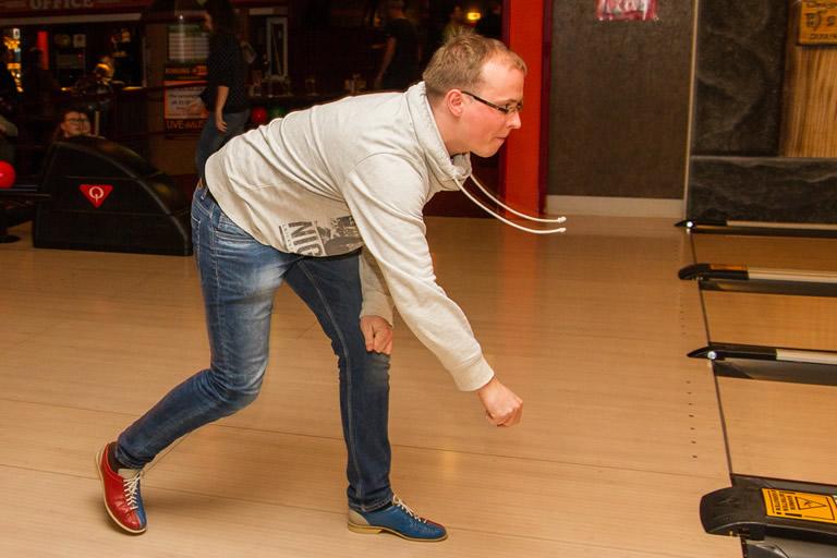 Weichnachtsfeier 2015, clickstorm beim Bowling /2/