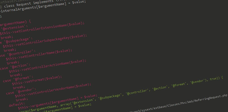 Sicherheitslücke TYPO3 ab Version 4.3, Sourcecode
