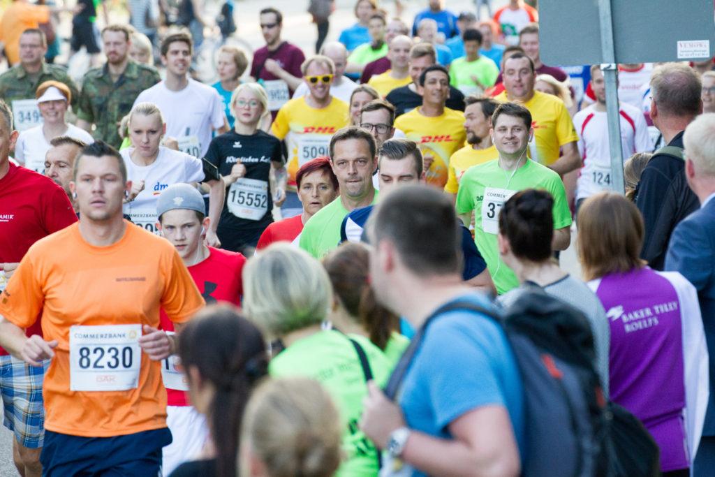 Leipziger Firmenlauf 2016, Ronny beim Start