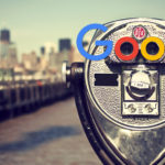 Alt-Attribute, Fernglas New-York mit Google Logo