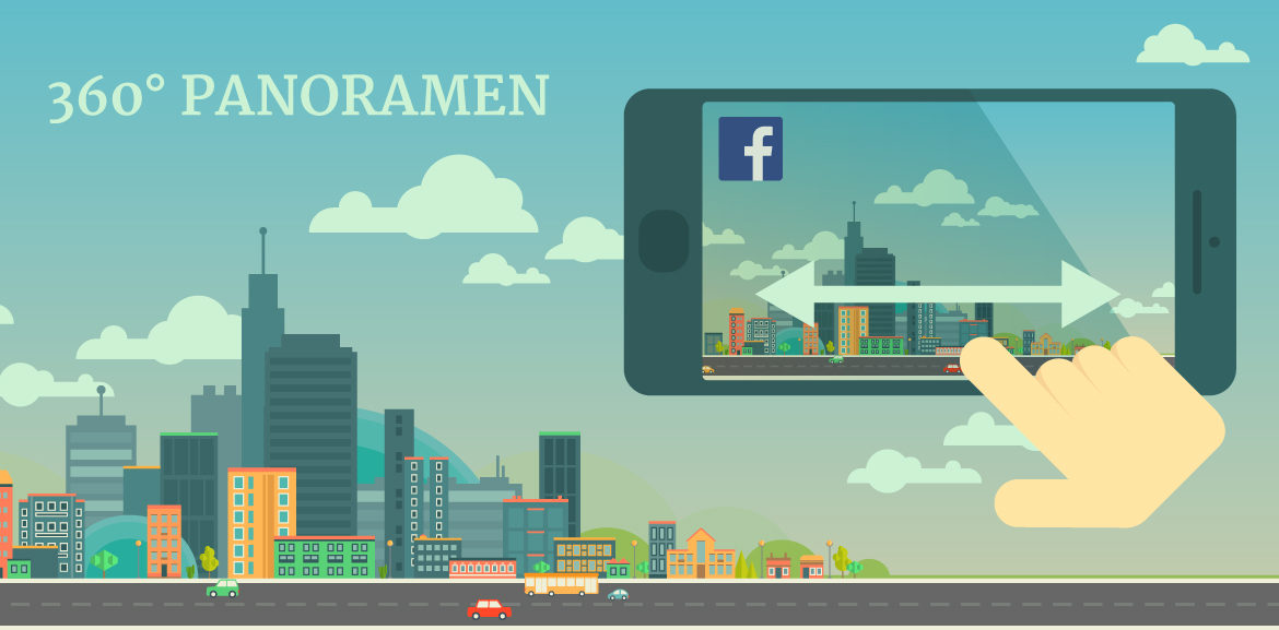 360°-Panoramen bei Facebook