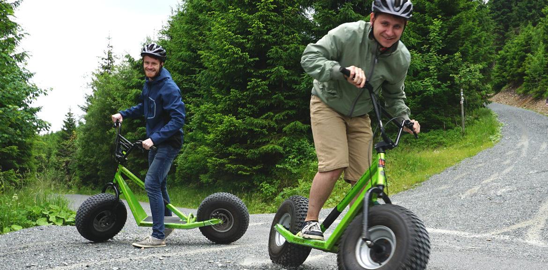 Firmenausflug Oberwiesenthal - Monsterroller, Kiri und Lennart