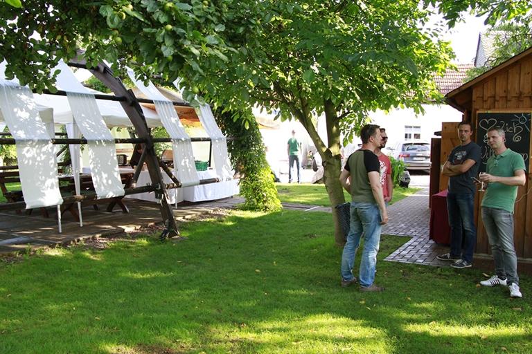 Greifendorf - Schmiedelandhaus, Garten