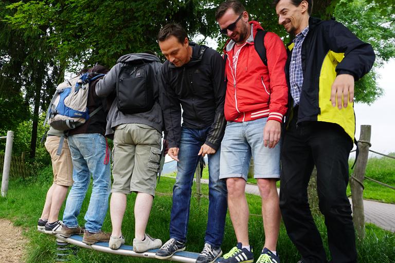 Firmenausflug Oberwiesenthal - Monsterroller, Teamwahl