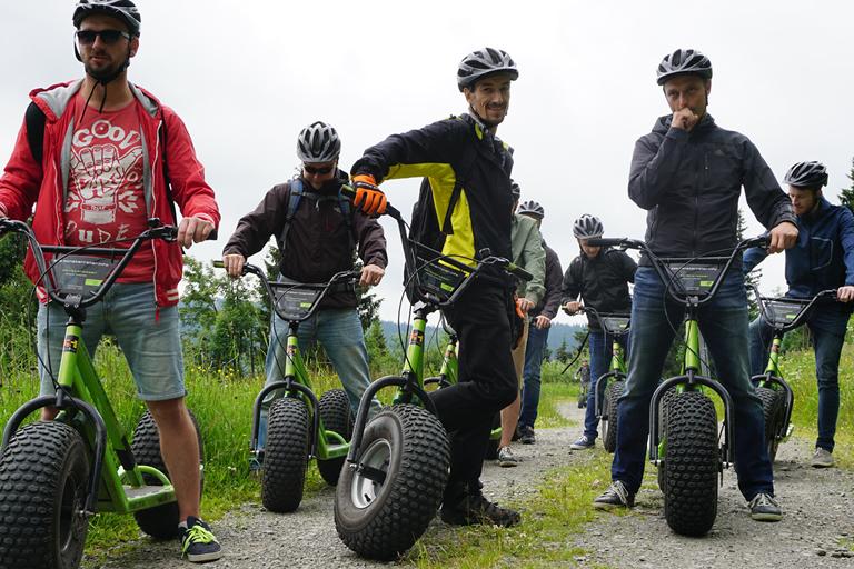 Firmenausflug Oberwiesenthal - Monsterroller, Zwischenstop
