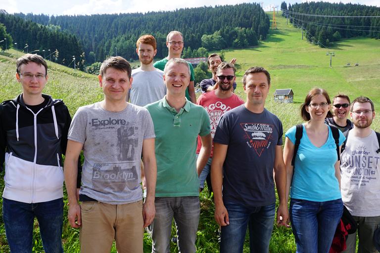 Firmenausflug Oberwiesenthal - Monsterroller, Teamfoto