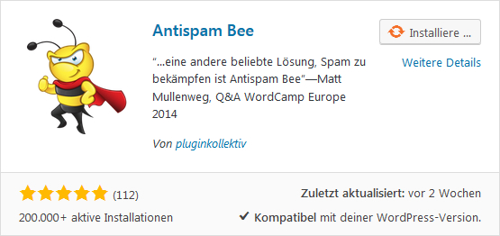 Antispam Bee WordPress Plugin