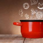 Kochtopf, Suppe mit Icons