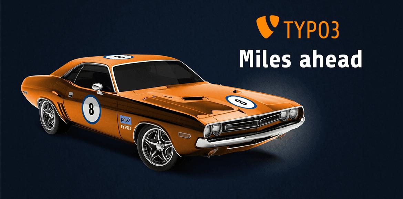 TYPO3 8.7 Miles ahead