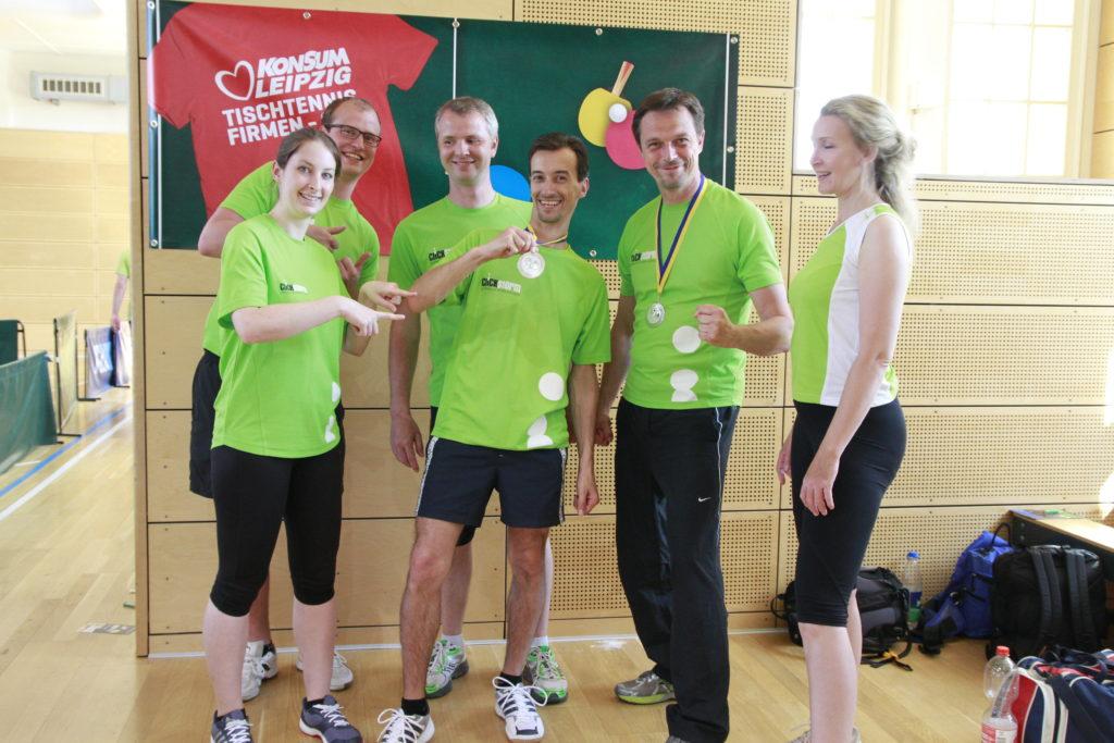 clickstorm Ende Tischtennis Firmen-Cup 2017 Leipzig