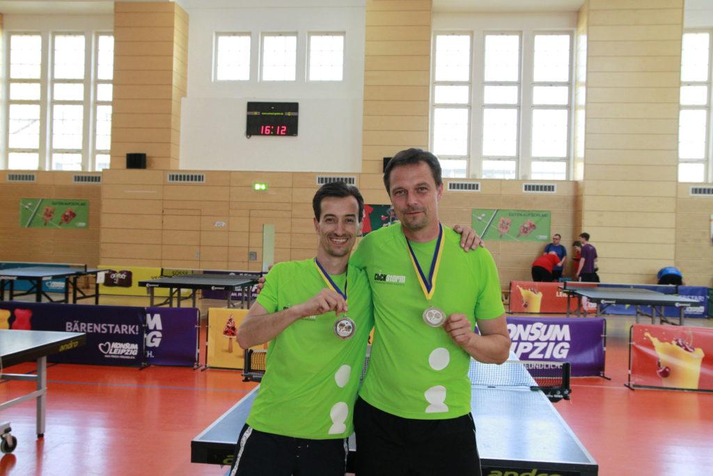 Medaillen Tischtennis Firmen-Cup 2017 Leipzig