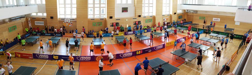 Turnhalle Tischtennis Firmen Cup 2017