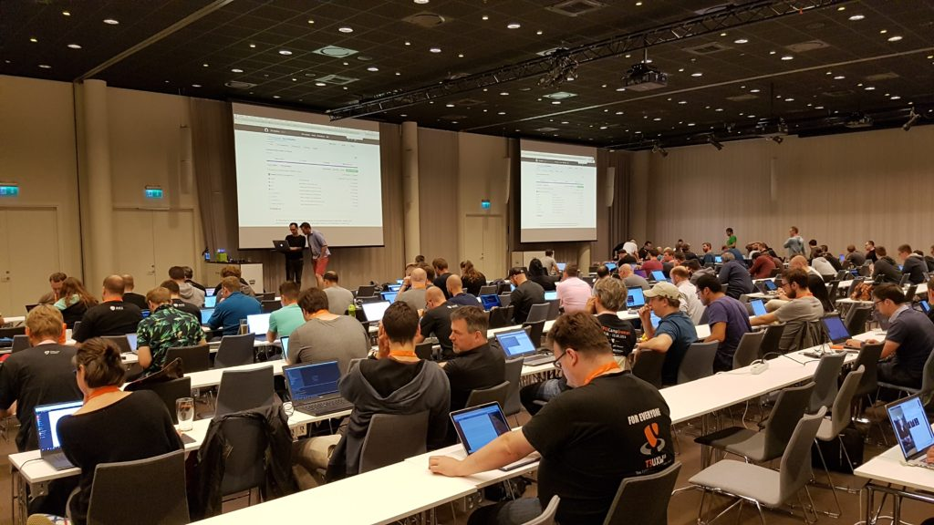 TYPO3 Developer Days 2018 - Coding-Night