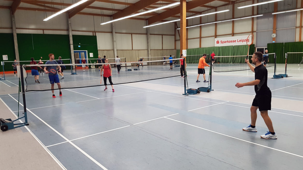 Badminton Gruppe 1