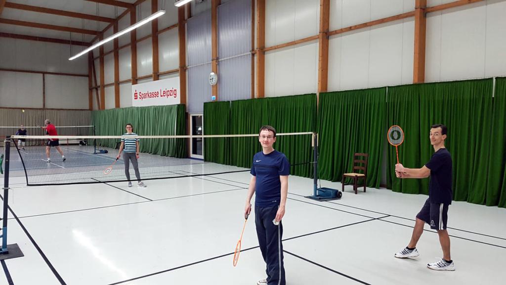 Badminton Gruppe 2