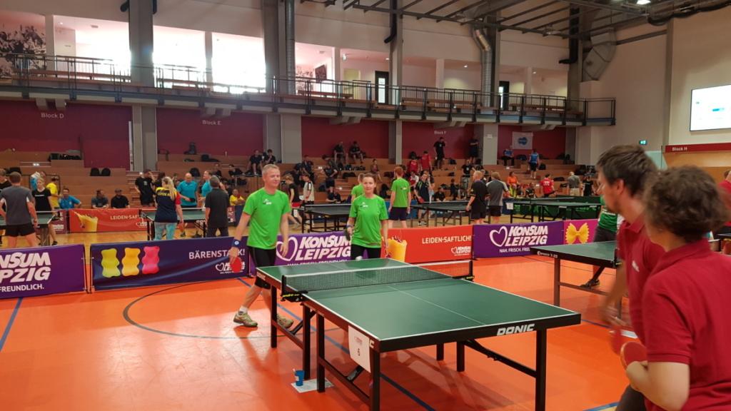 Tischtennis Firmen Cup Match 2