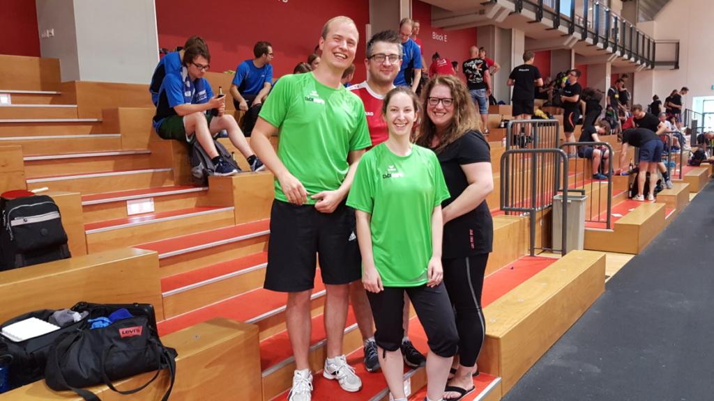 Tischtennis Firmencup Leipzig 2018 Team Softline Solutions und clickstorm
