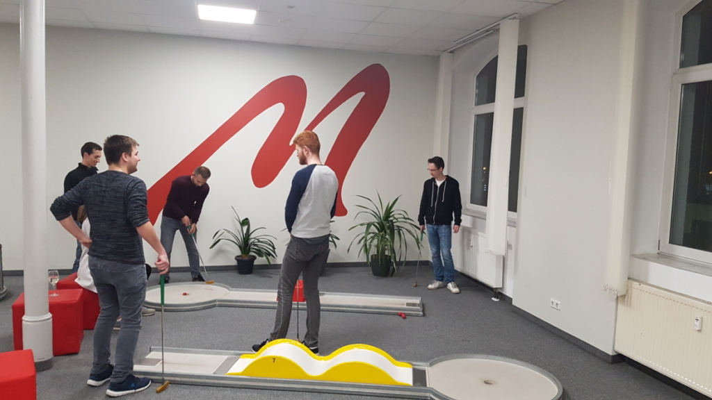 Minigolf Matchball