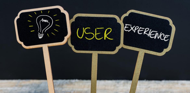 Core Web Vitals, 3 Blumenschilder - User Experience
