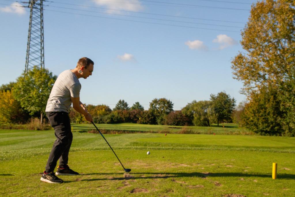 Golfschlag Pascal