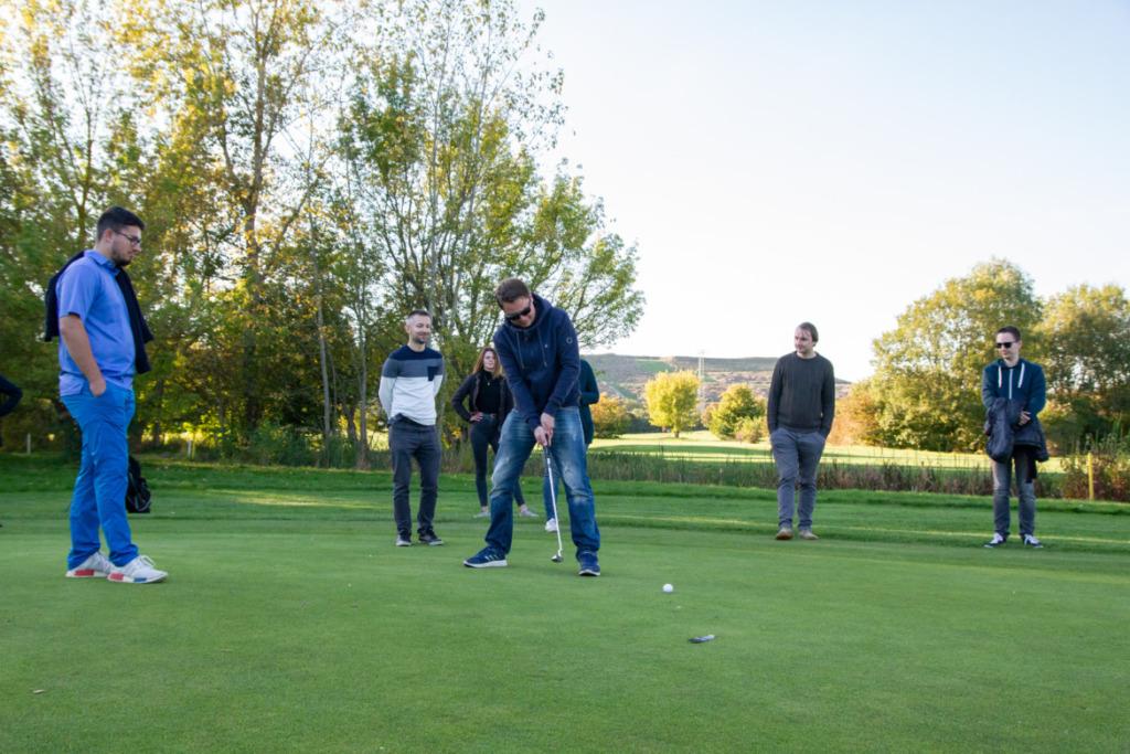 Golfschlag Martin