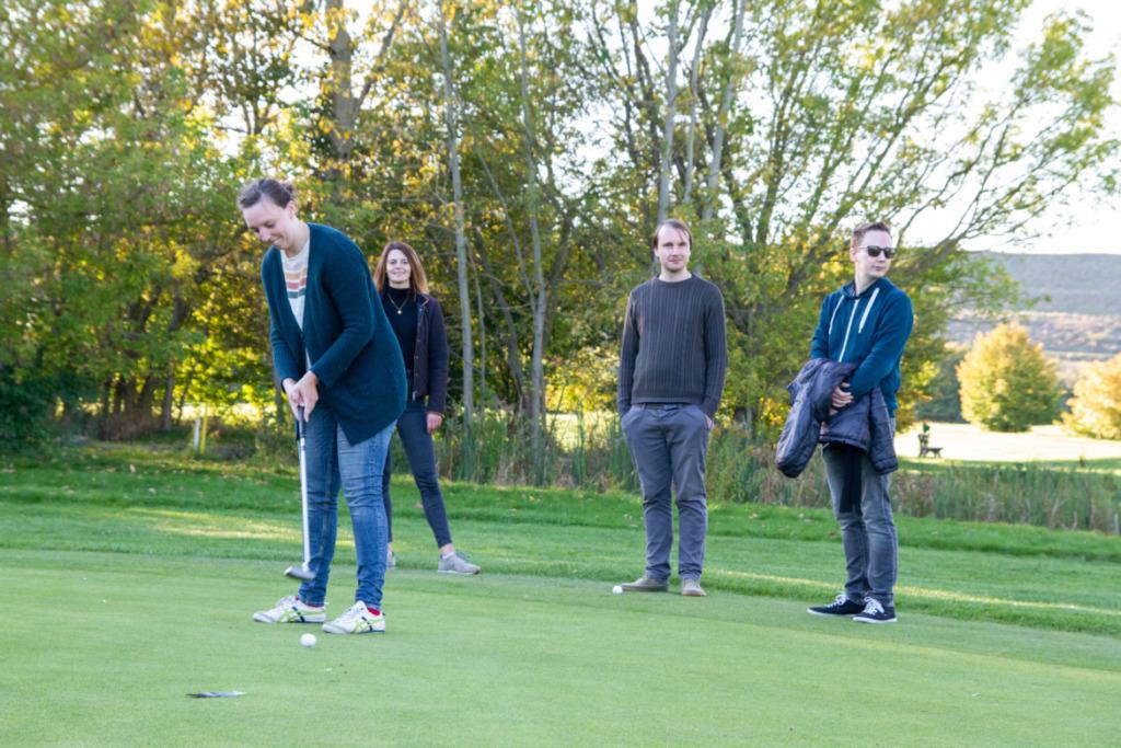 Golfschlag Claudia